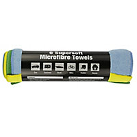 AutoPro accessories Microfibre Cloth, Pack of 6