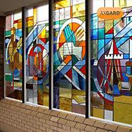 AXGARD Clear Polycarbonate Flat Glazing sheet, (L)2.05m (W)0.62m (T)2mm