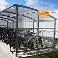 AXGARD Clear Polycarbonate Flat Glazing sheet, (L)3.05m (W)1m (T)3mm