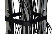 B&Q 4 Arm Black silver effect Rotary airer, 60m