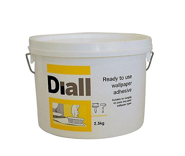 B Q All Purpose Ready To Use Wallpaper Adhesive 2 5kg Diy At B Q