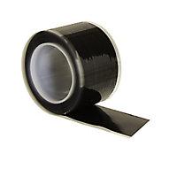 B&Q Black Self-amalgamating Tape (L)3m (W)25.4mm