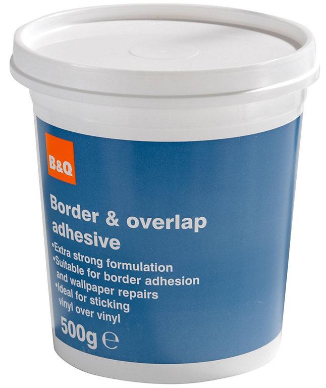 B Q Overlap Border Adhesive 500g Diy At B Q