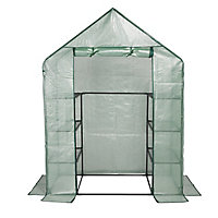 B&Q Plastic 1m² Growhouse