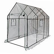 B&Q Plastic 3.5m² Growhouse