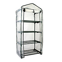 B&Q PVC 4 Tier Growhouse