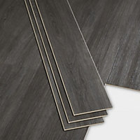 Bachata Dark grey Luxury vinyl click flooring