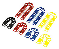 Backpackers Plastic Shims, Pack of 100