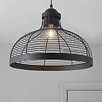 Baici Matt Black Pendant Ceiling light