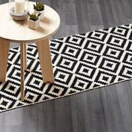 Bairnsdale Dark grey Oak effect Laminate Laminate flooring