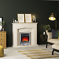 Be Modern Beauport Cashmere Electric Fire suite
