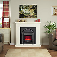 Be Modern Colville Soft white Electric Fire suite