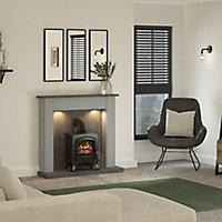Be Modern Emmbrook Grey Fire suite