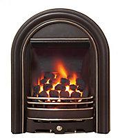 Be Modern Everett Black Gas Fire BEMO8150