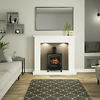 Be Modern Fontwell White & grey Stove suite