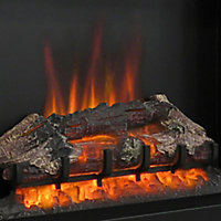 Be Modern Fremont Chrome effect Electric Fire