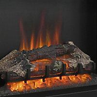 Be Modern Hagen Black Chrome effect Electric Fire