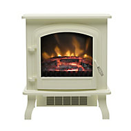 Be Modern Torva Cream Cast enamel effect Electric Stove