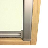 Beige Blackout Roof window blind (W)78cm (L)140cm
