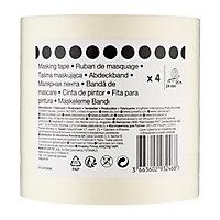 Beige Masking Tape (L)25m (W)24mm, Pack of 4