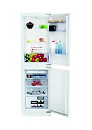 Beko ICQFD355 50:50 White Integrated Fridge freezer