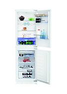 Beko ICQFDB355 50:50 White Integrated Fridge freezer