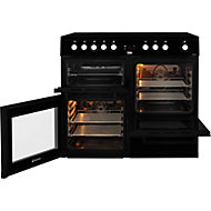 Beko KDVC100K Freestanding Electric Cooker with Ceramic Hob