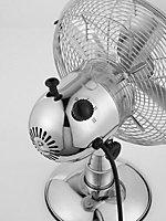 """Beldray Chrome effect 10"""" Desk Fan"""