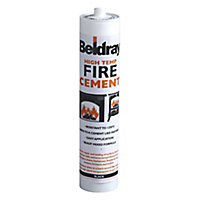 Beldray High temp Black Ready mixed Fire cement, 0.6kg Cartridge