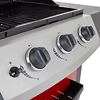 Berkley 3 Burner Gas Barbecue