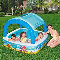 Bestway Canopy PVC Paddling pool 1.4m x 1.14m