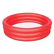 Bestway Fast set 3 ring PVC Paddling pool 1.02m x 0.25m