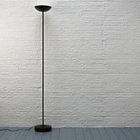 Black Uplighter floor lamp