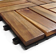 Blooma Acacia Deck tile (L)0.3m (W)300mm (T)24mm