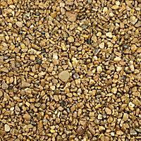 Blooma Alpine Golden Decorative stones, Large 5kg Bag
