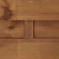 Blooma Arve Fence panel (W)0.9m (H)1.8m