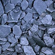 Blooma Blue Slate Decorative chippings, Bulk 22.5kg Bag