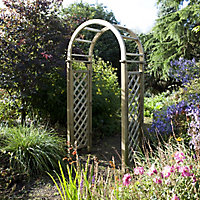 Blooma Chiltern Round top Wood Arch
