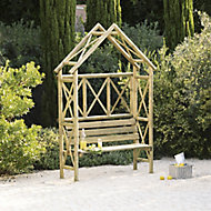 Blooma Cottage Softwood Arbour - Assembly service included