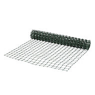 Blooma Dark green PVC-coated High-density polyethylene (HDPE) Wire mesh fencing, (L)5m (W)1m (1500g)