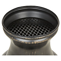 Blooma Diogo Steel Chiminea