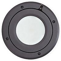 Blooma Dodson Matt Black Mains-powered Neutral white LED Decking light