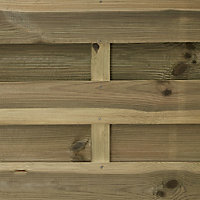 Blooma Douro Fence panel (W)0.9m (H)1.8m