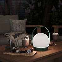 Blooma Elvira Green Battery-powered Neutral white LED Indoor & outdoor Decorative light