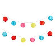 Blooma Estevan Solar-powered Multicolour 20 LED Outdoor String lights