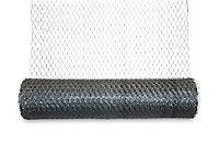 Blooma Galvanised Steel Triple torsion mesh, (L)10m (W)1m (1130g)