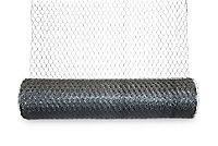 Blooma Galvanised Steel Triple torsion mesh, (L)10m (W)1m (3600g)