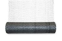 Blooma Galvanised Steel Triple torsion mesh, (L)25m (W)1m (5500g)
