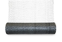 Blooma Galvanised Steel Triple torsion mesh, (L)5m (W)1m (1800g)