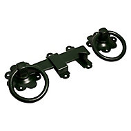 Blooma Green Steel Ring gate latch, (L)152mm
